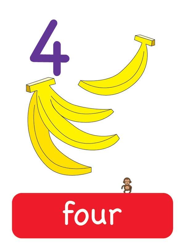 четыре наанглийском