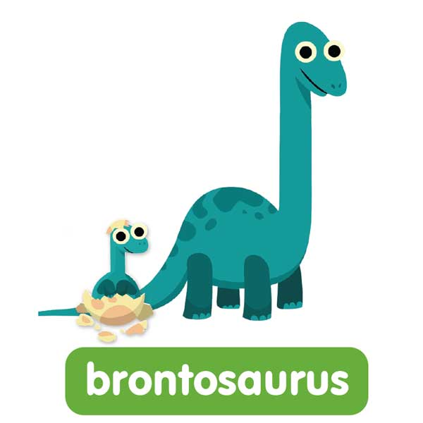 brontosaurus in english