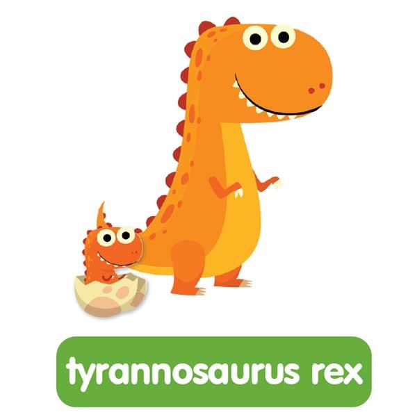 tyrannosaurus rex in english