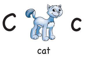 Карточки для детей Cat