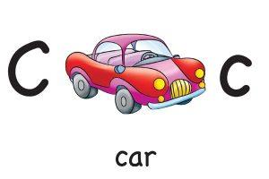 Карточки для детей Car