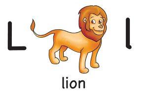 Карточка на английском lion