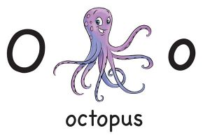 Карточка на английском octopus