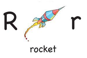 Карточка на английском rocket