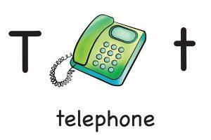 Карточка на английском telephone