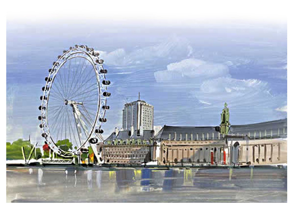 Рассказ по The London eye на английском