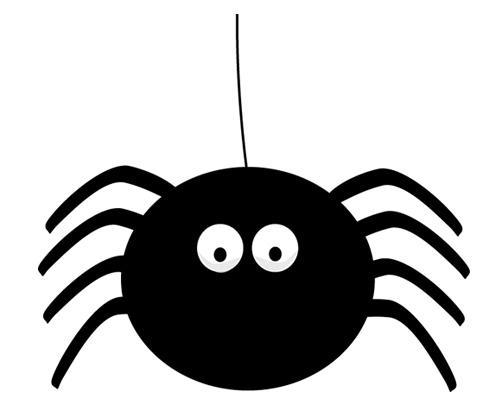 Паук по-английски - a spider