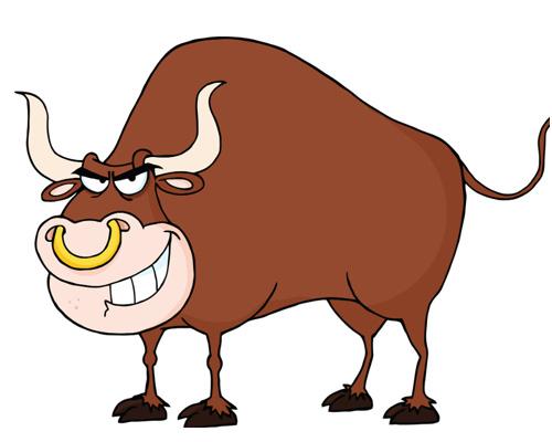 Бык по-английски - a bull