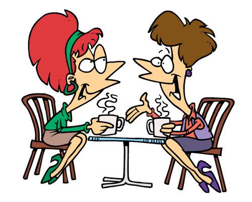 talkative [ˈtɔːkətɪv] - разговорчивый