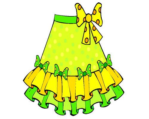 Юбка по-английски - skirt [skɜːt]