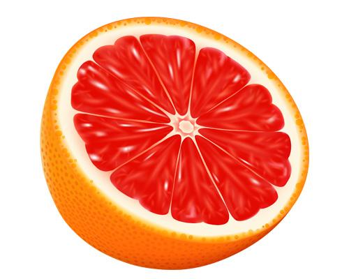 Грейпфрут по-английски grapefruit [ˈgreɪpfruːt]