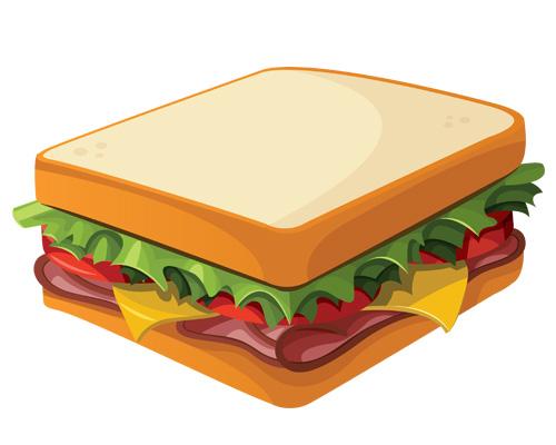 Бутерброд по-английски - a sandwich