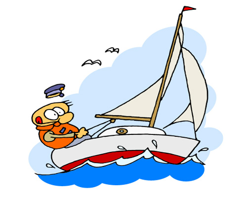 Парусный спорт по-английски - sailing [ˈseɪlɪŋ]