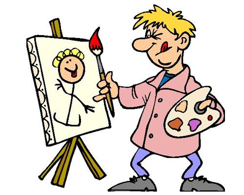 Живопись или рисование по-английски - painting [ˈpeɪntɪŋ]