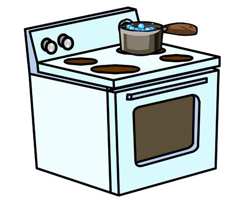 """По-английски """"ПЛИТА (ПЕЧКА)"""" - cooker (stove)"""