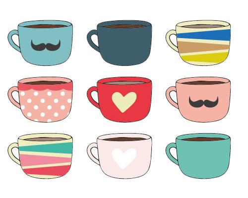 Чашки, кружки по-английски - cups [kʌps]