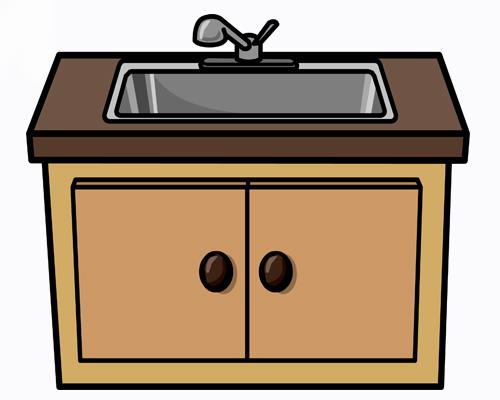 Раковина по-английски -sink