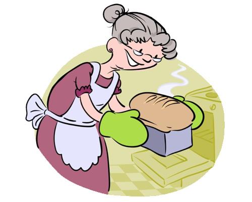 Английский глагол печь, выпекать - to bake