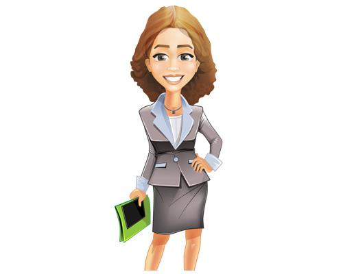 Женщина предприниматель, бизнесмен - a businesswoman