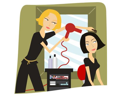 Парикмахер по-английски - a hairdresser