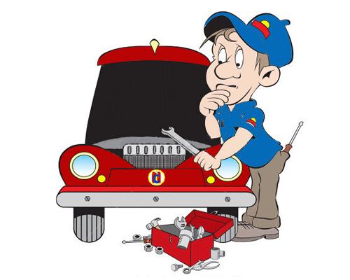 Кто ремонтирует автомобили - a mechanic