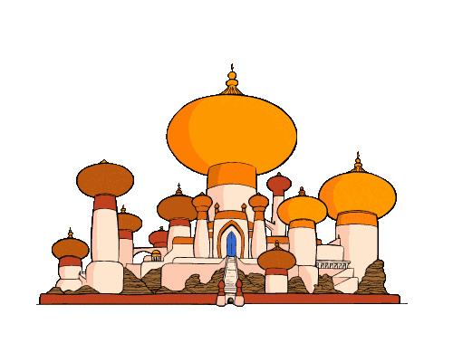 Дворец по-английски - palace [ˈpælɪs]