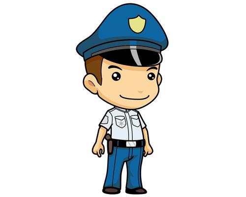 Полицейский по-английски