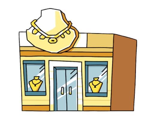 Ювелирный магазин - jeweller's