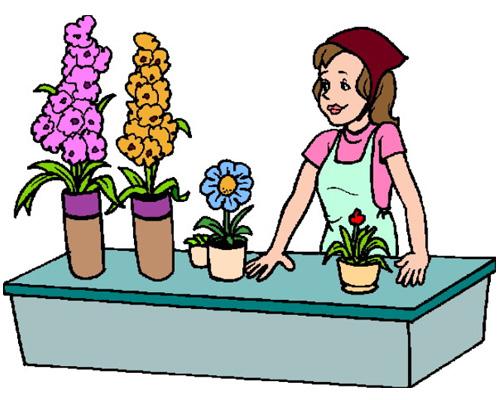 Цветочный магазин по-английски - florist's