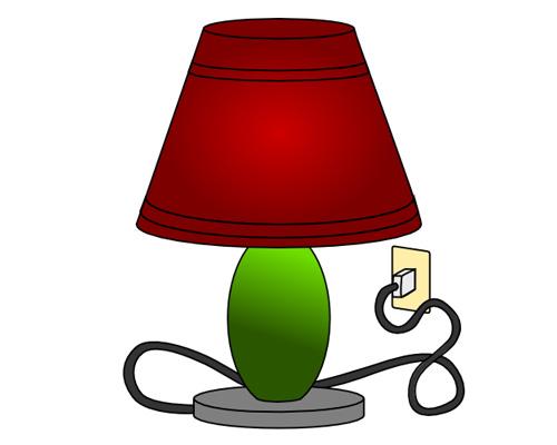 Настольная лампа по-английски - table lamp