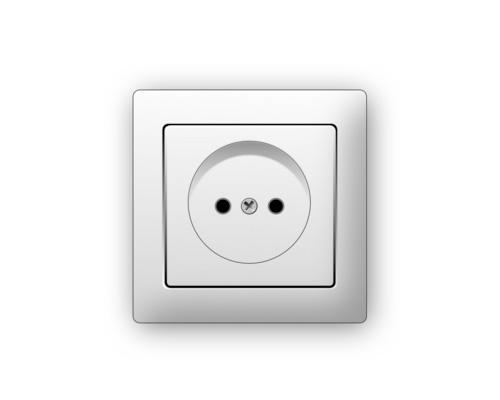 Розетка по-английски - wall socket [wɔːl ˈsɒkɪt]