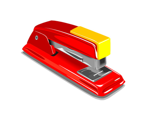 Степлер по-английски - stapler [ˈsteɪplə]