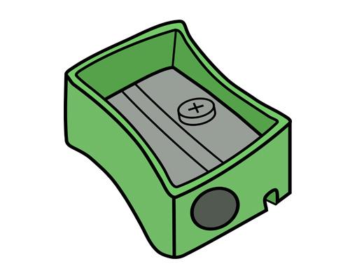 Точилка для карандашей по-английски - pencil sharpener [pensl ˈʃɑːp(ə)nə]