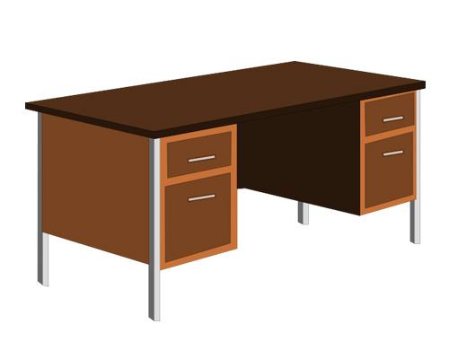 Письменный стол по-английски - desk [desk]