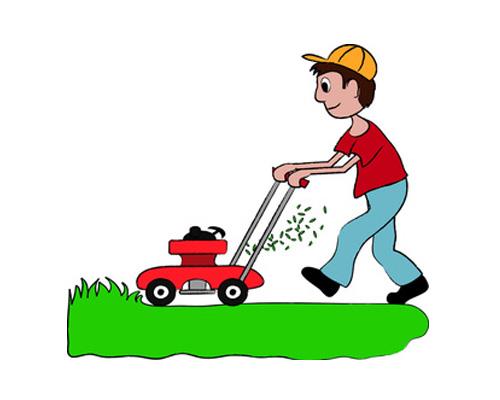 Газонокосилка по-английски - lawn mower [lɔːn ˈməʊə]