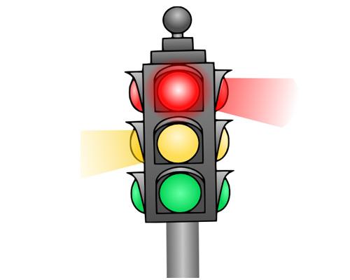 Светофор по-английски - traffic lights