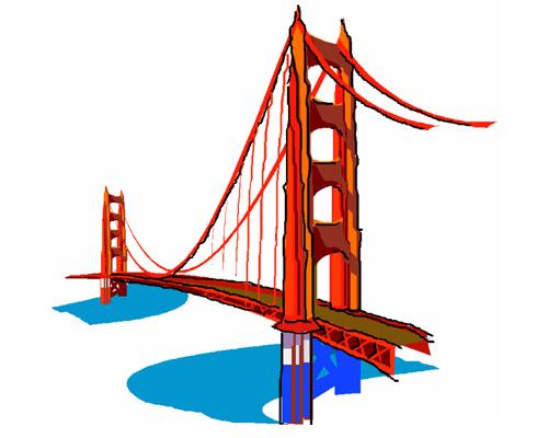 """Слово """"bridge"""" переводится на русский, как мост"""