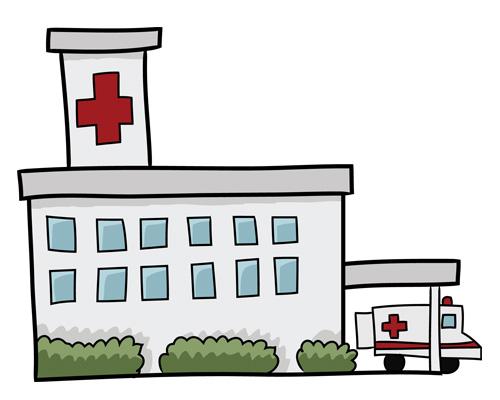 Госпиталь по-английски - hospital