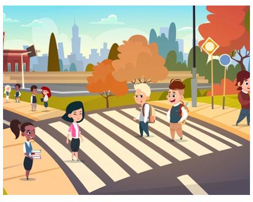 Пешеходный переход по-английски -
