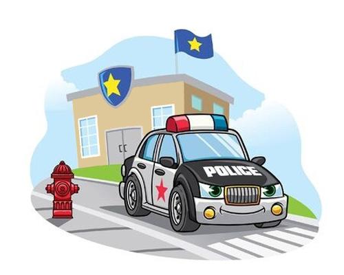 Полицейский участок на английском языке - police station