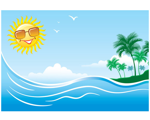 Солнечно по английски - It's sunny