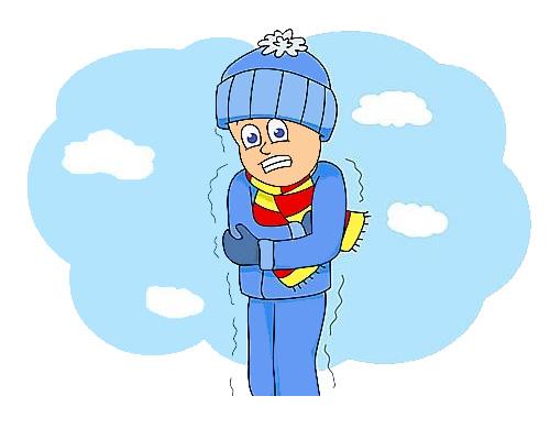 Морозно по английски - It's freezing