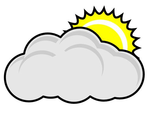 Пасмурно по-английски - It's cloudy