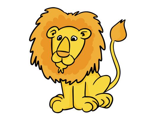 a lion roars - лев рычит - to roar [rɔː] - рычать
