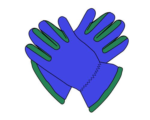 Перчатки по-английски -gloves