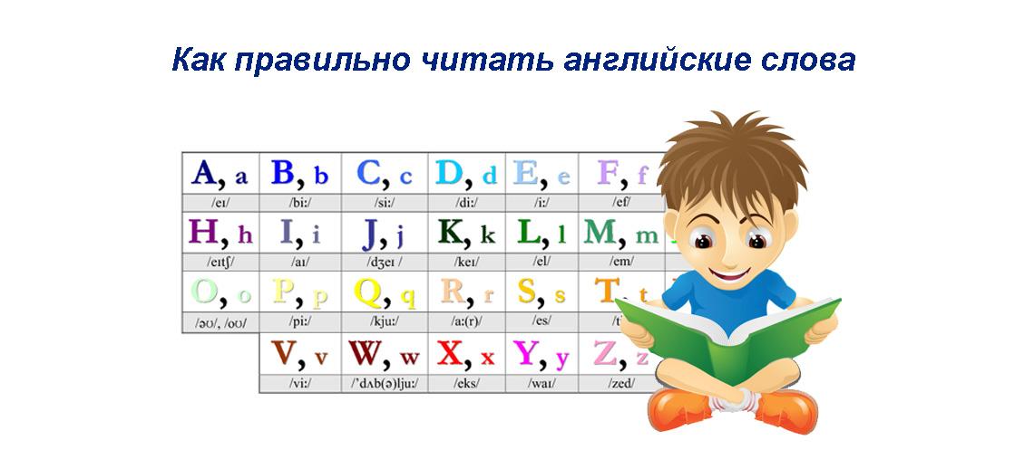 Как правильно читать английские слова - руководство начинающим