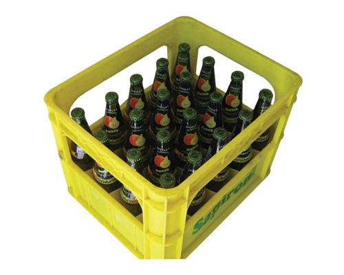 Ящик газировки по-английски - a crate of soft drinks