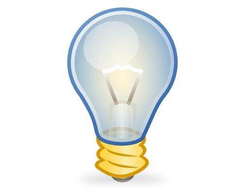 Лампочка по-английски - lightbulb [ˈlaɪtbʌlb]