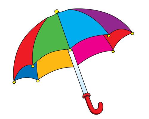 Зонтик по-английски - umbrella [ʌmˈbrelə]