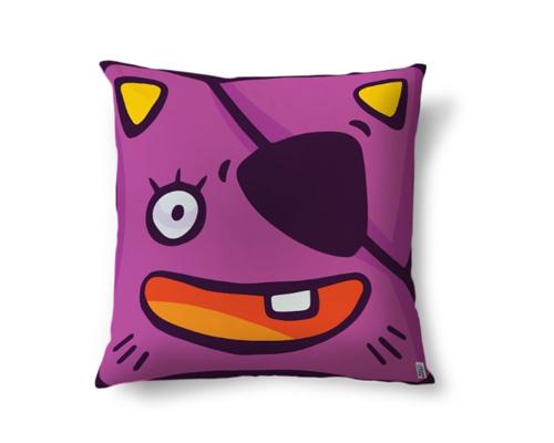 Диванная подушка по-английски - cushion [kʊʃn]